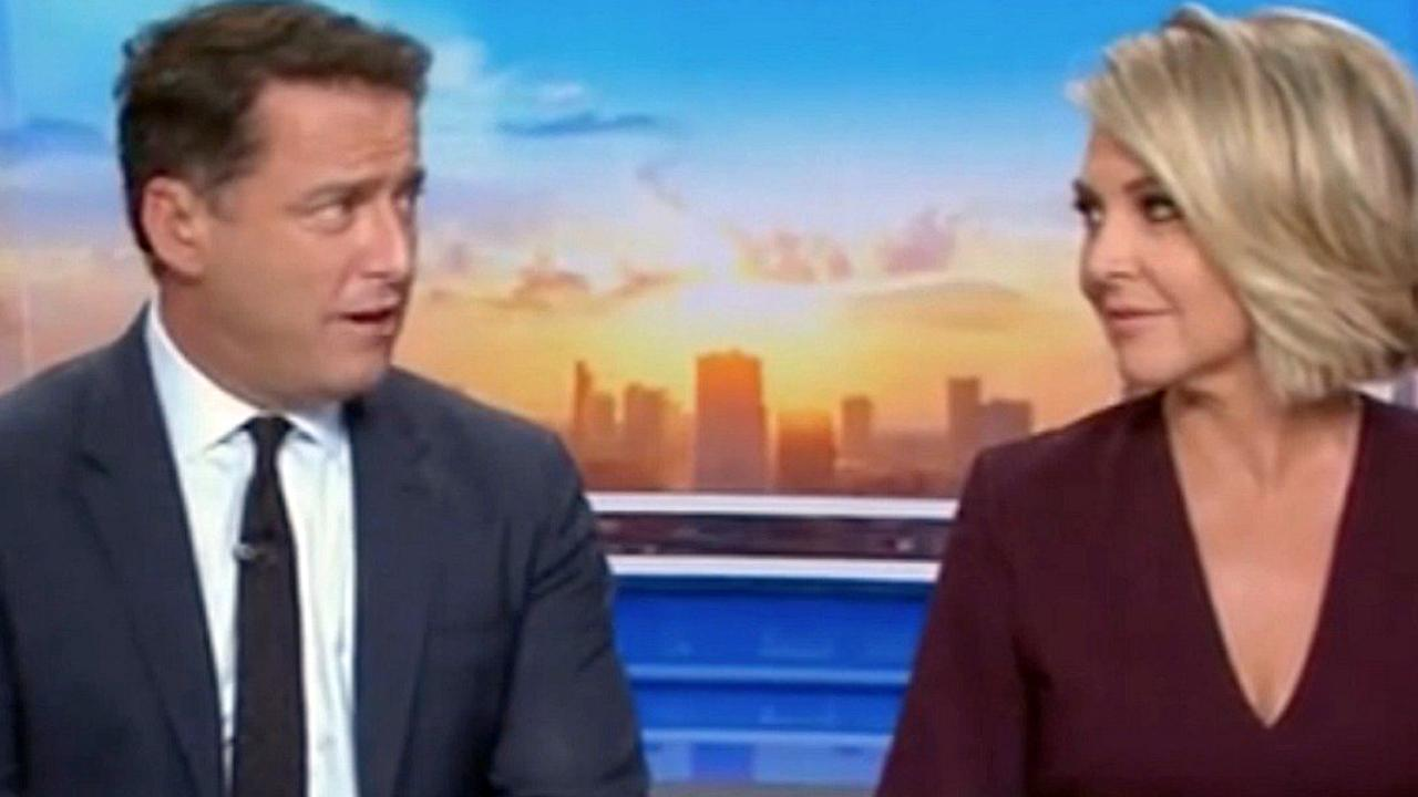 Reports of festering tensions between the two began over a year ago. Picture: Channel 9