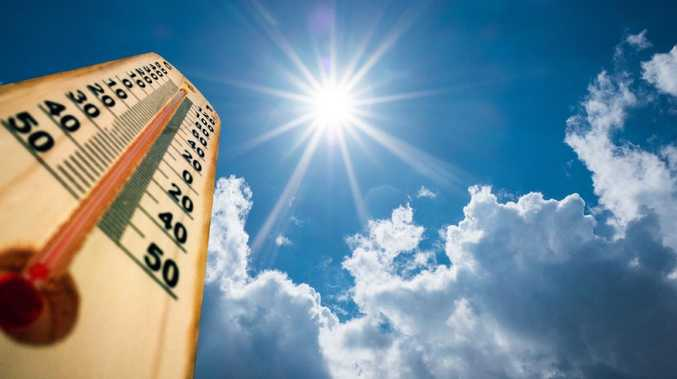 Temperatures will peak above 40C in some locations across southeast Queensland this weekend. Picture: iStock