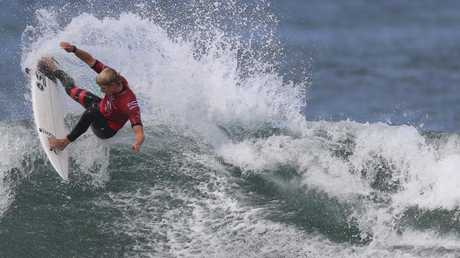 John John Florence in action at Bells Beach. Picture: Alex Coppel.