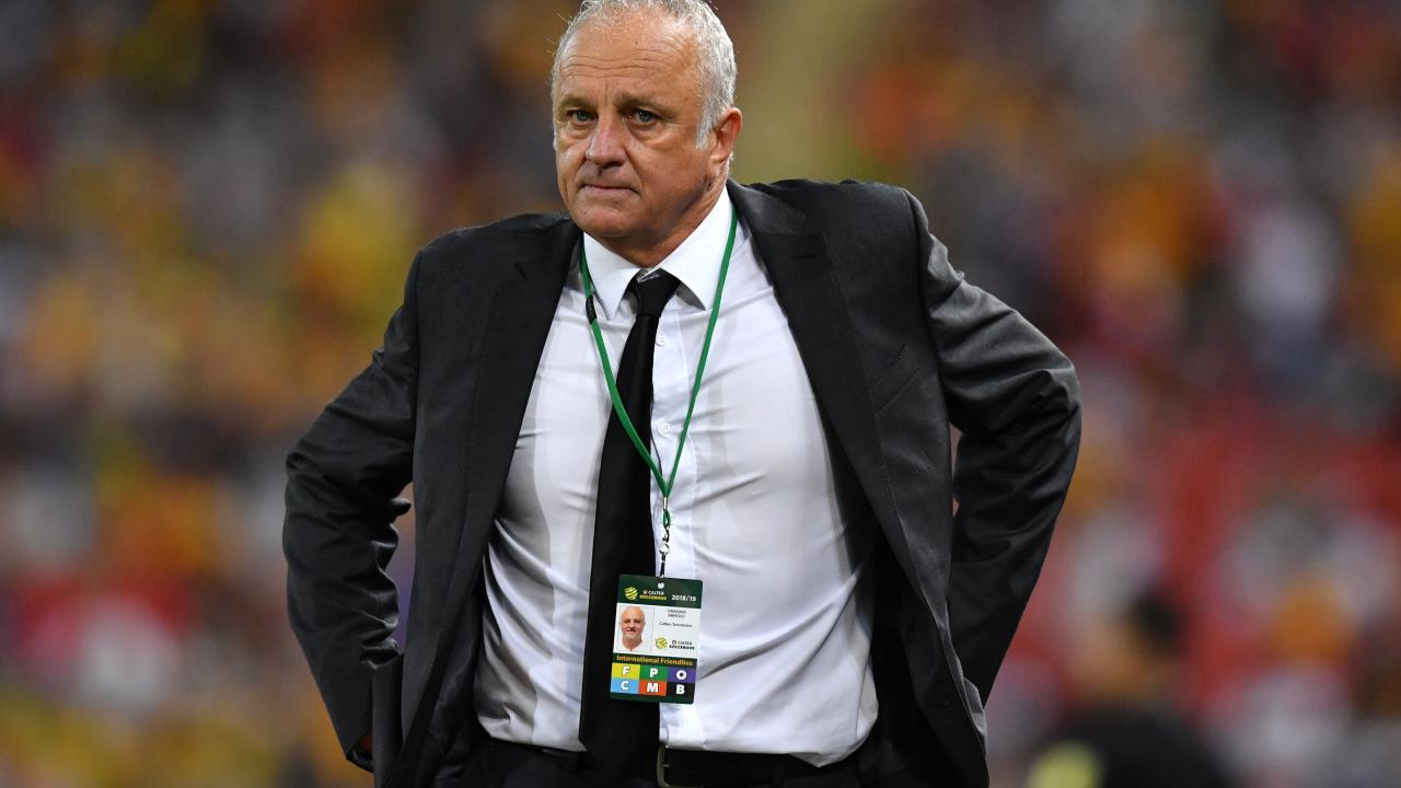 Socceroos coach Graham Arnold
