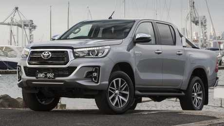 The HiLux is Australia's best-selling vehicle. Picture: Supplied.
