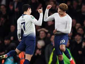 Spurs stunners dump Arsenal to seal semi spot