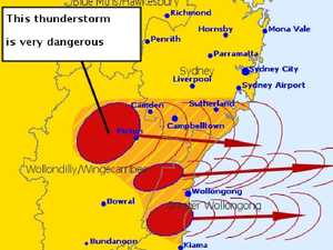 Giant NSW storm declared a catastrophe