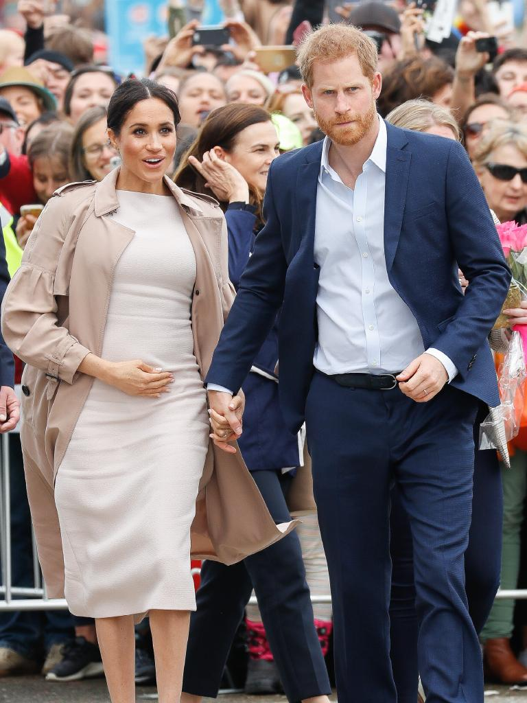 There are bound to be a bunch of kids sharing the royal baby's name after it's born around April next year. Picture: Getty Images