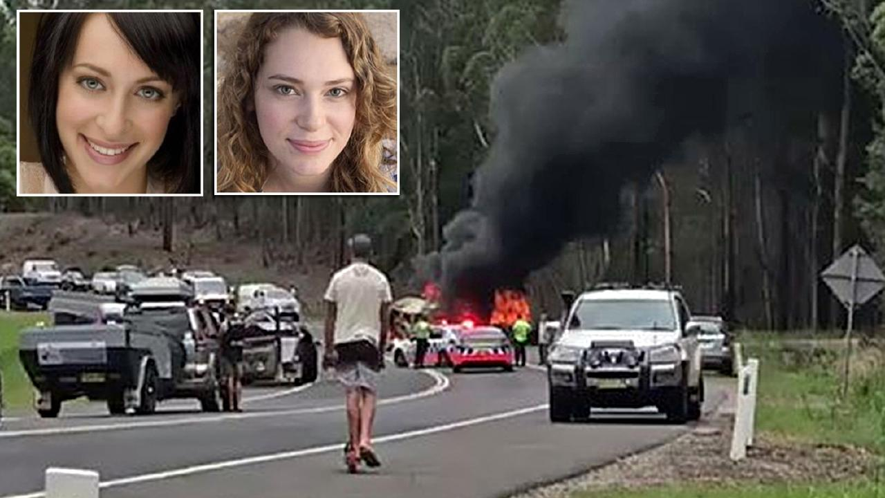 The horrific crash at Mondayong between Sussex Inlet and Bendalong on December 26, 2017.