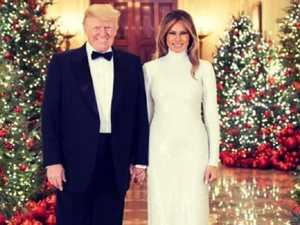 Trump's wildly glamorous Christmas card