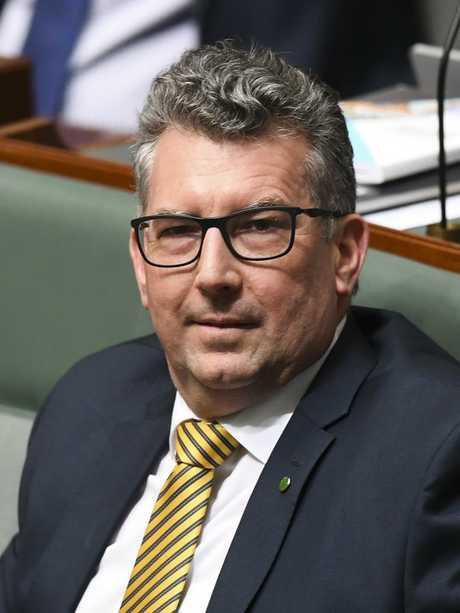 Hinkler MP Keith Pitt.
