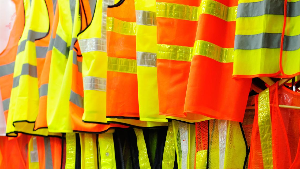 The RACQ's Steve Spalding says a reflective vest is a must-have in the cars of Queensland drivers.