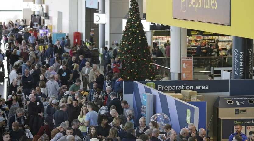 Severe delays at Gatwick's airport due to drones are hindering many Christmas travel plans. Picture:
