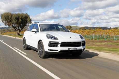Porsche's Cayenne S.