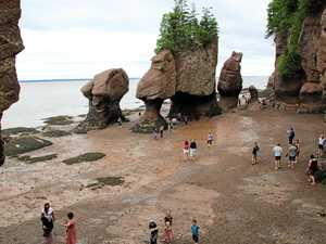 Time and (huge) tide wait for no man at Bay of Fundy