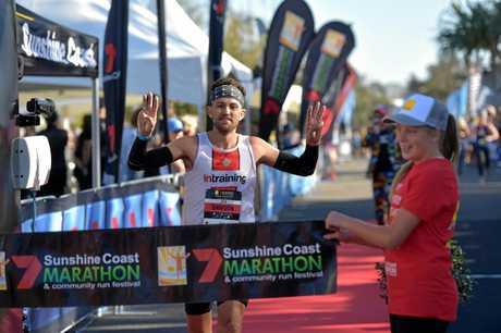 Marathon man Clay Dawson