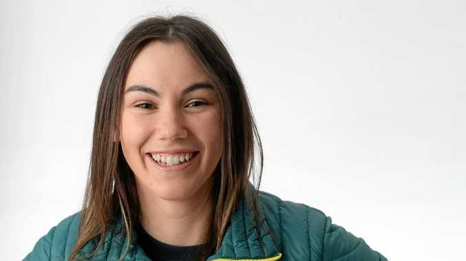 Winter Olympian and current Ipswich Sportstar of the Year Deanna Lockett