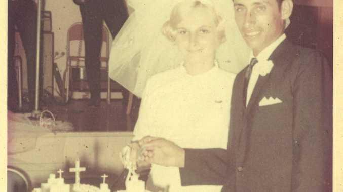 WEDDING DAY: Eddie and Irene Vella were married on December 21, 1968.