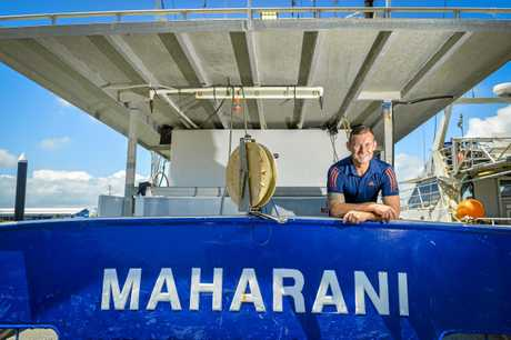 Owner of reef fishing boat Maharani, Will Neill.