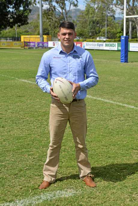 Carlin Anderson newly signed Cowboys player from Gympie.