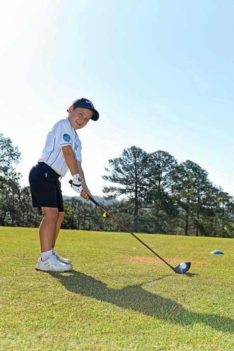 Chase Rendell Golfer.