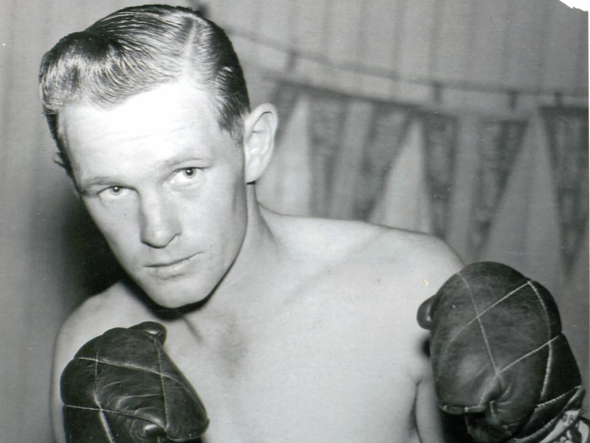 John Muir boxing flash back