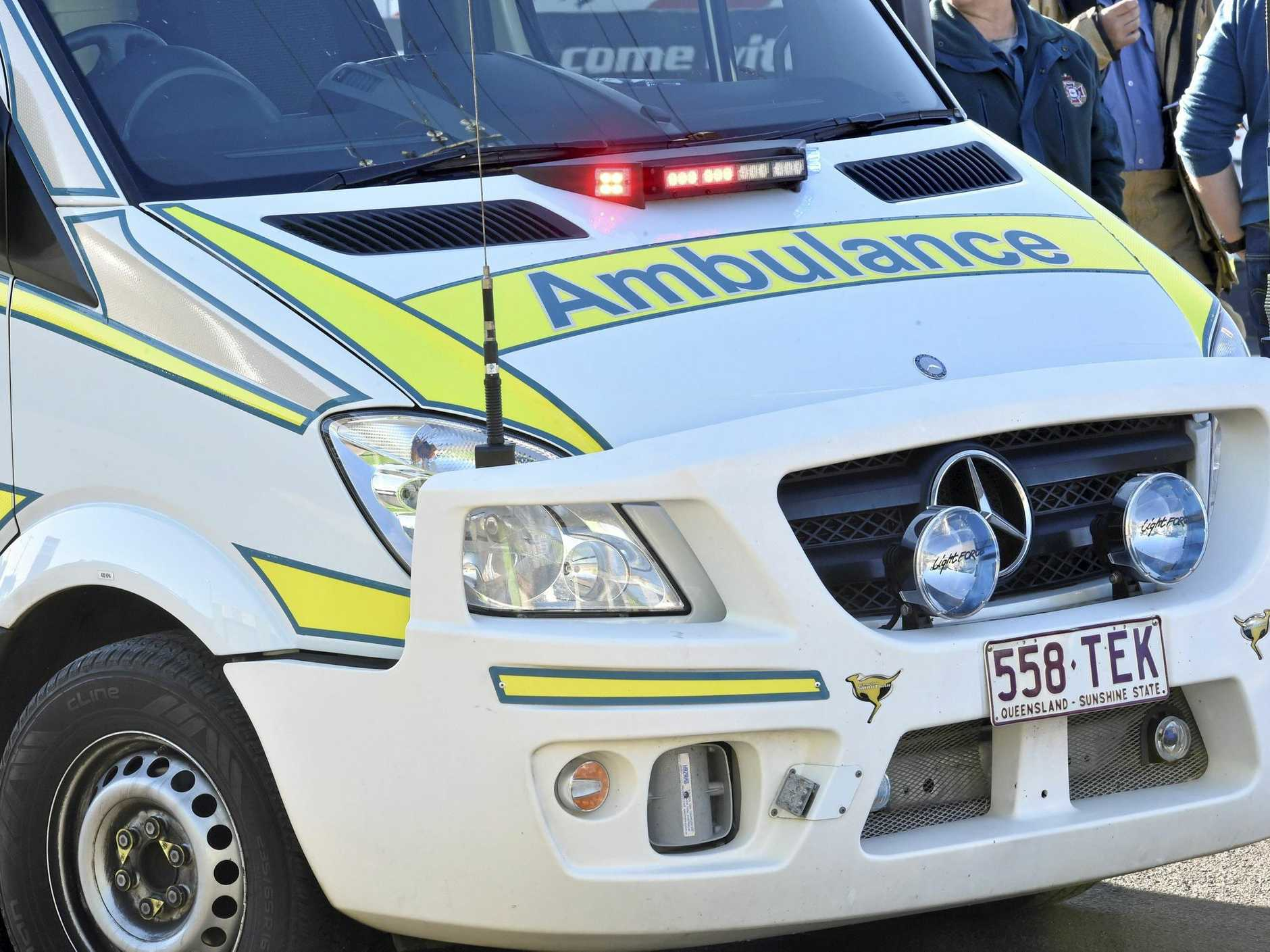 Two motorcycle riders have been taken to Bundaberg Hospital from separate crashes.