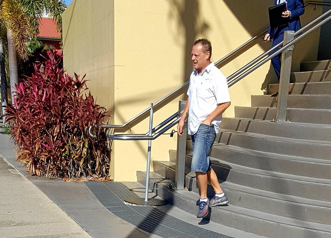 Bernardus Doves, 51, from Balnagowan faced Mackay Magistrates Court charged with entering premises with intent and wilful damage.