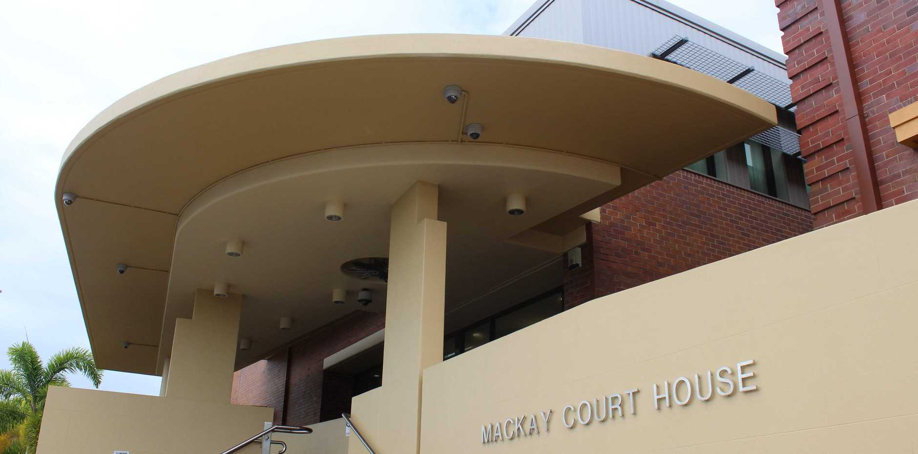The man appeared at the Mackay Magistrates Court