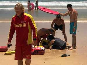 UPDATE: Man airlifted after near drowning at Rainbow Beach