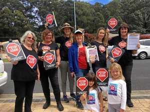 Regional Queenslanders fed up with law breaking activists