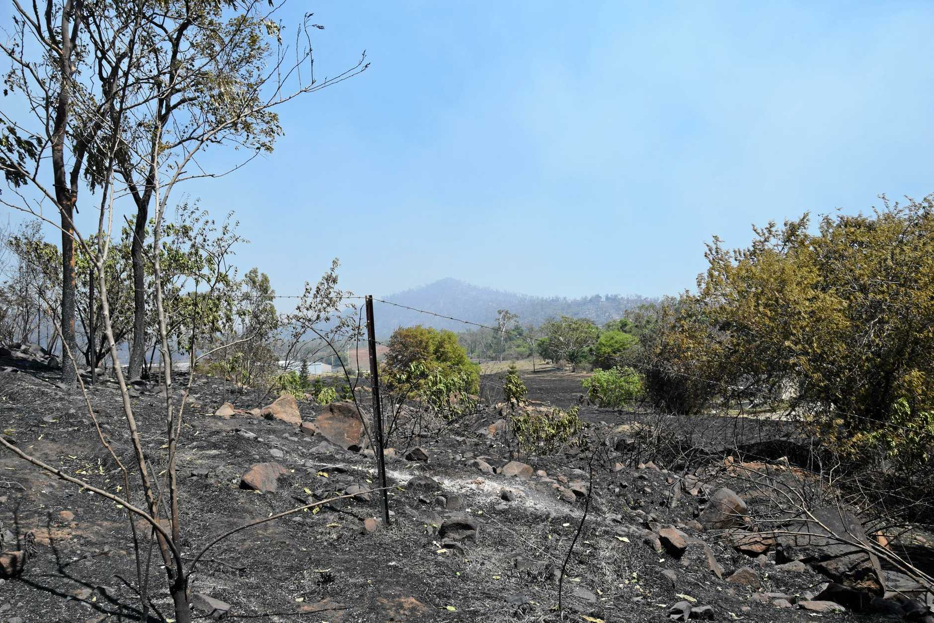 STANWELL FIRE: The fire that burned land between Stanwell and Kabra sparked a massive evacuation for Kabra and Gracemere residents on Wednesday.