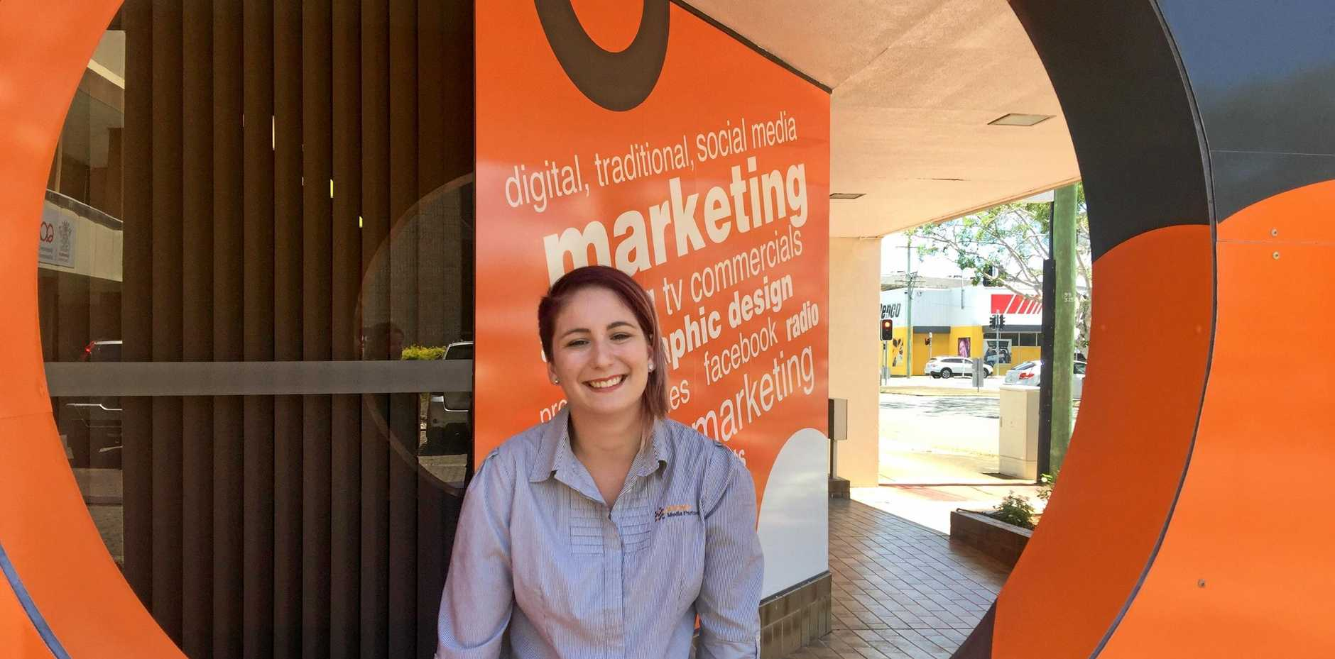 Strategic Media Partners was one of five local businesses who received money as par t of the State Government's small business grants.  Jordyn Cantoni.