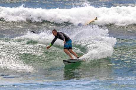 The Queensland State Government Minister of Sport and Housing is a keen surfer when he gets the time.