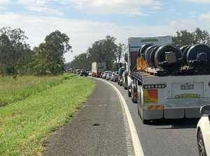 Cause of Bruce Highway traffic jams near Gympie explained