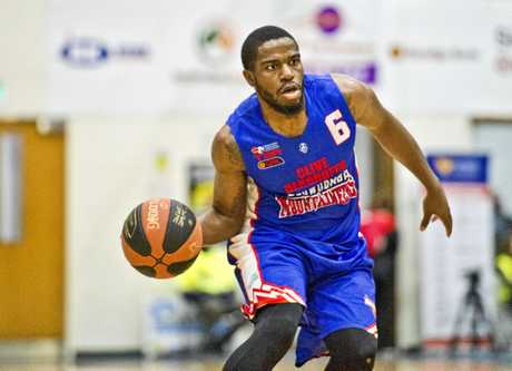 Import Damon Bozeman was a key man for the Toowoomba Mountaineers during the QBL season.