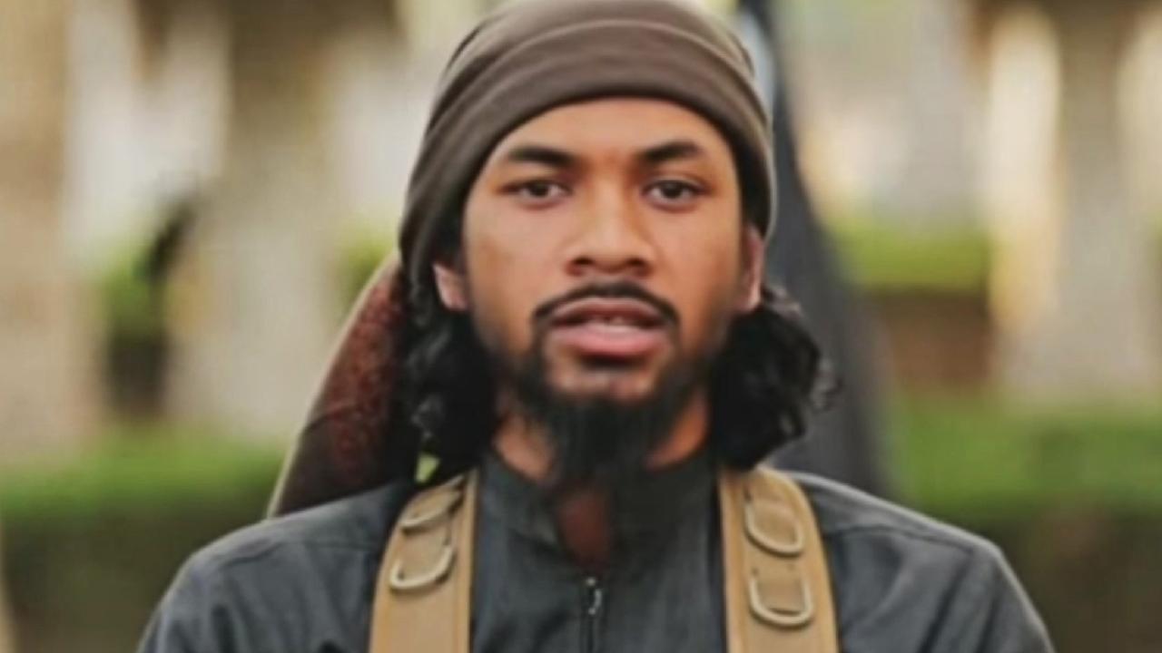 Australian-born Islamic State terrorist Neil Prakash. Picture: AAP