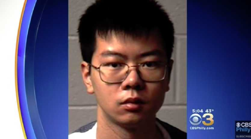Chemistry student charged with poisoning university roommate. Picture: CBS Philly