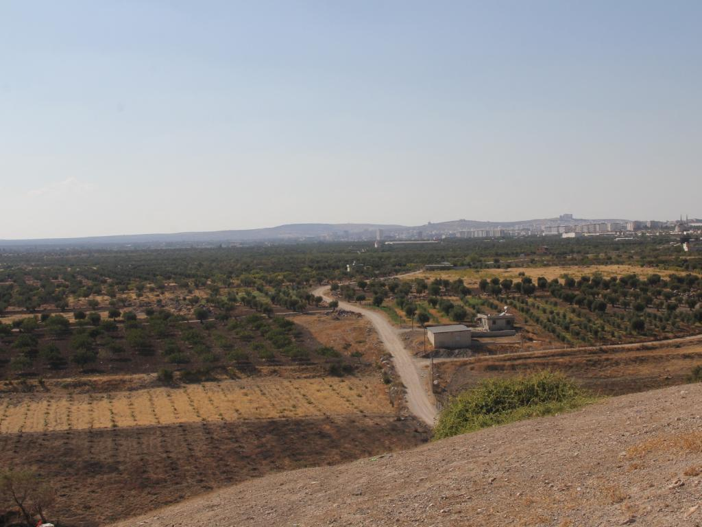 The Syrian border area where Neil Prakash was arrested in late 2016. Picture: Supplied