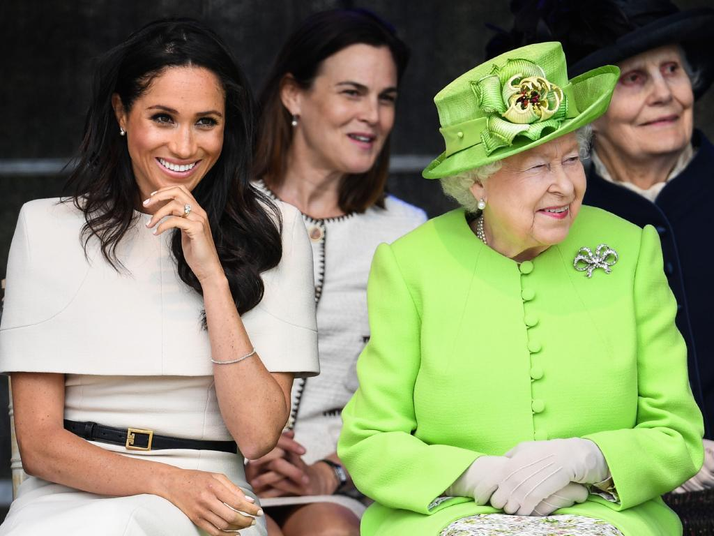 Is Meghan taking things in to her own hands? Picture: Getty