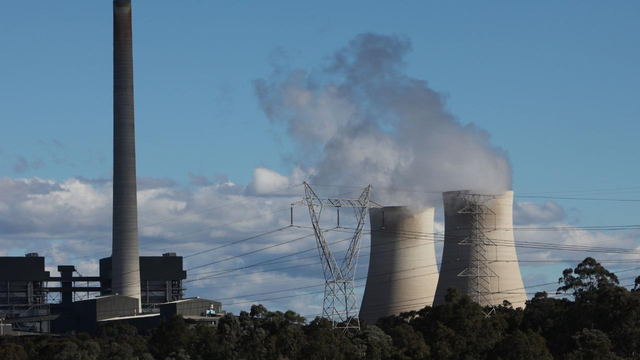 The Bayswater power station in the Hunter Valley of New South Wales.