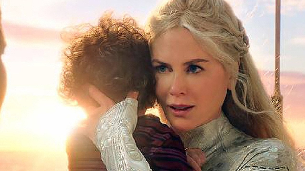 Oscar winner Nicole Kidman plays Aquaman's mother.