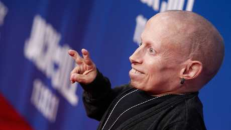 Mini-Me himself, Verne Troyer. Picture: Christopher Polk/Getty