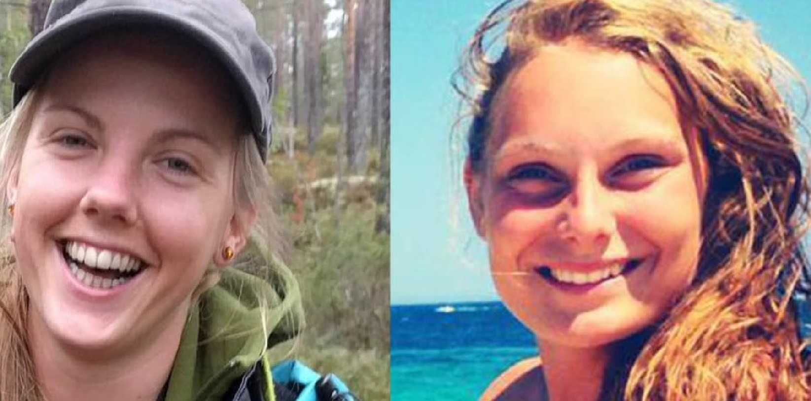 The families of murdered tourists Maren Ueland (left) and Louisa Jespersen have endured a viral video of their decapitation and images of their dead bodies posted to their Facebook pages. Picture: Facebook