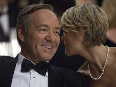 Kevin Spacey's Frank Underwood in Netflix's House of Cards. Picture: Supplied