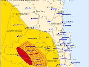 Severe storm warning issued for Lockyer Valley
