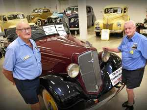 Antique car club helps shoppers take ride back in time