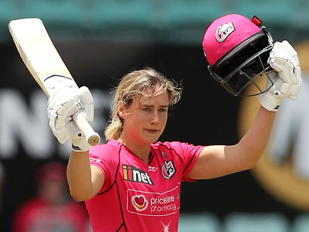 Ellyse Perry is the first WBBL player to hit two centuries in a season.