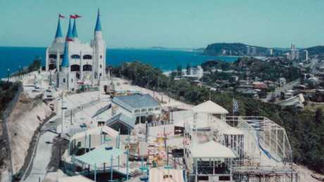 You might remember the original Gold Coast theme park, Magic Mountain. Picture: Supplied
