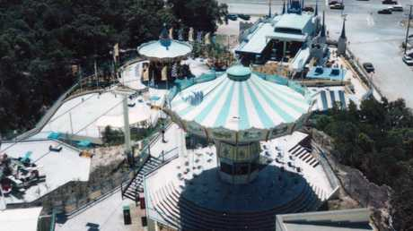 Magic Mountain was turned into a resort. Picture: Supplied