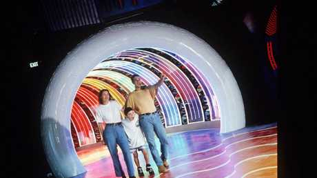 Remember Sega World? Here's the old entrance to the Time Transportation Tunnel. Picture: News Corp Australia