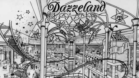 An artist impression of Dazzeland in 1991. Picture: News Corp Australia