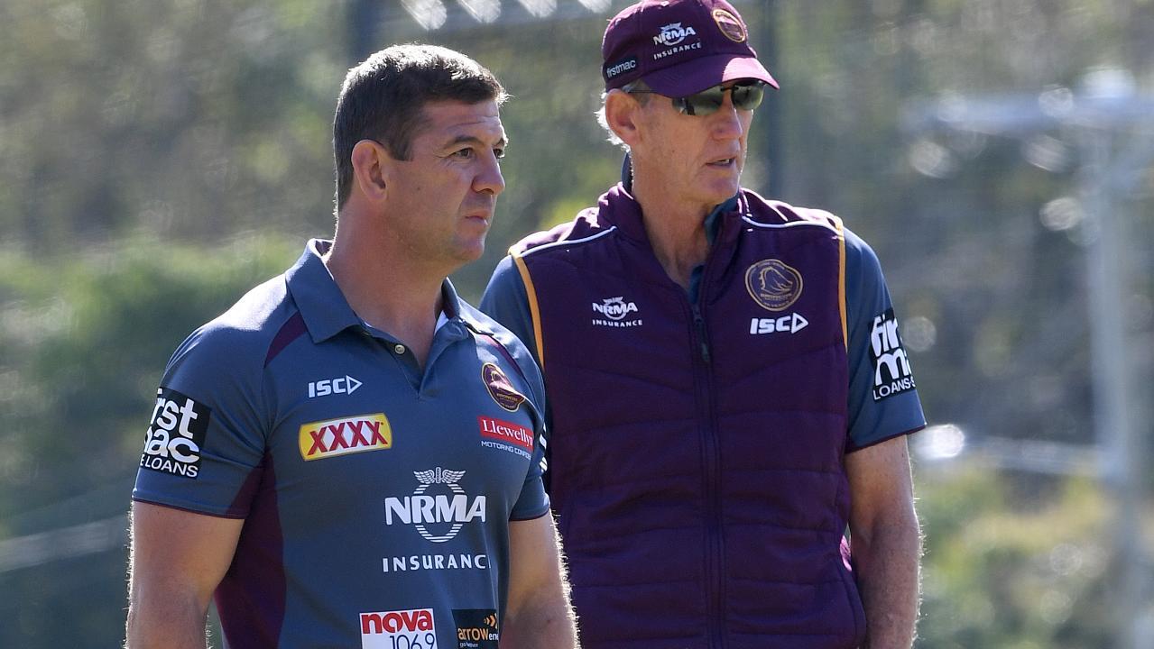 Jason Demetriou joined Bennett at South Sydney. (AAP Image/Dave Hunt)