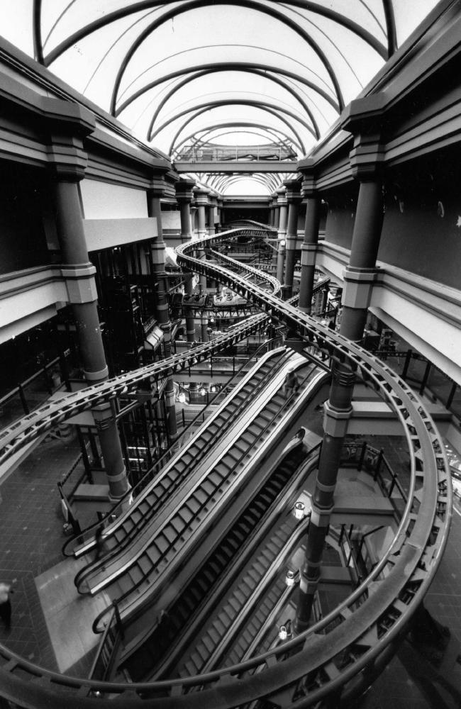 The Dazzeland rollercoaster. Picture: Martin Jacka